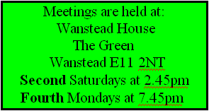 Meetings are held at:
